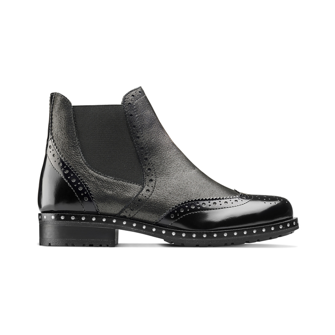 Women's shoes bata, Gris, 594-2186 - 26