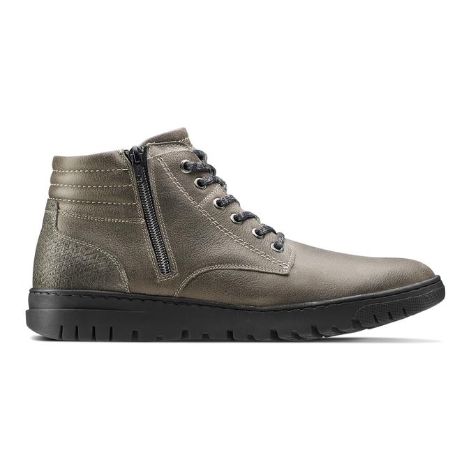 Men's shoes bata, Gris, 894-2719 - 26