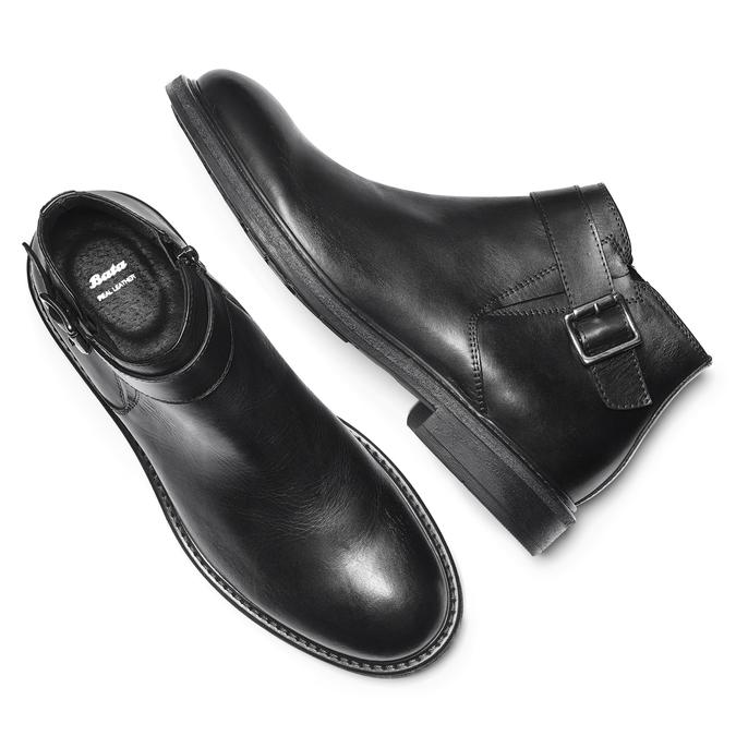 Men's shoes bata, Noir, 824-6603 - 19