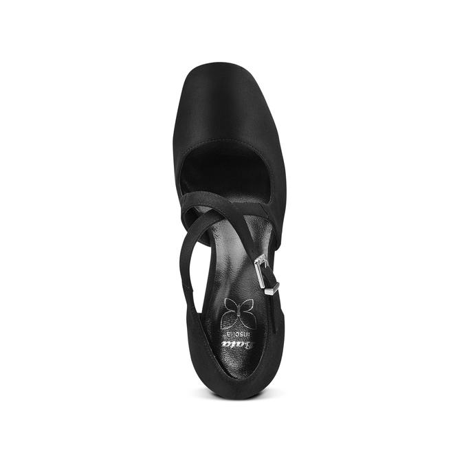Women's shoes insolia, Noir, 729-6975 - 17