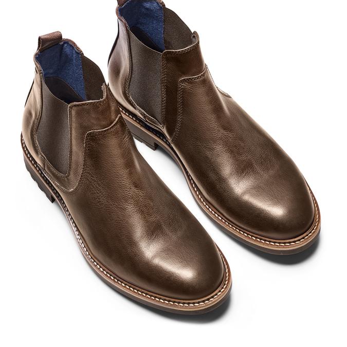 Men's shoes bata, Brun, 894-4736 - 17