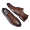 Men's shoes bata, Brun, 824-4999 - 26