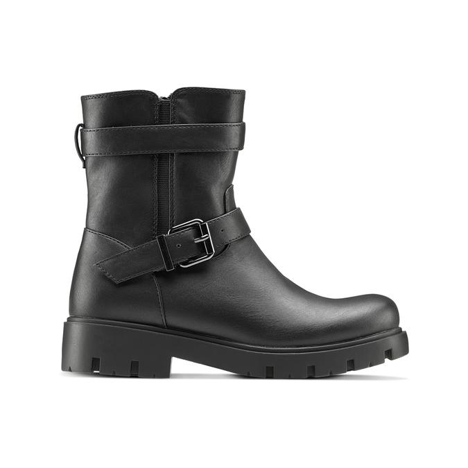 Childrens shoes mini-b, Noir, 391-6408 - 26