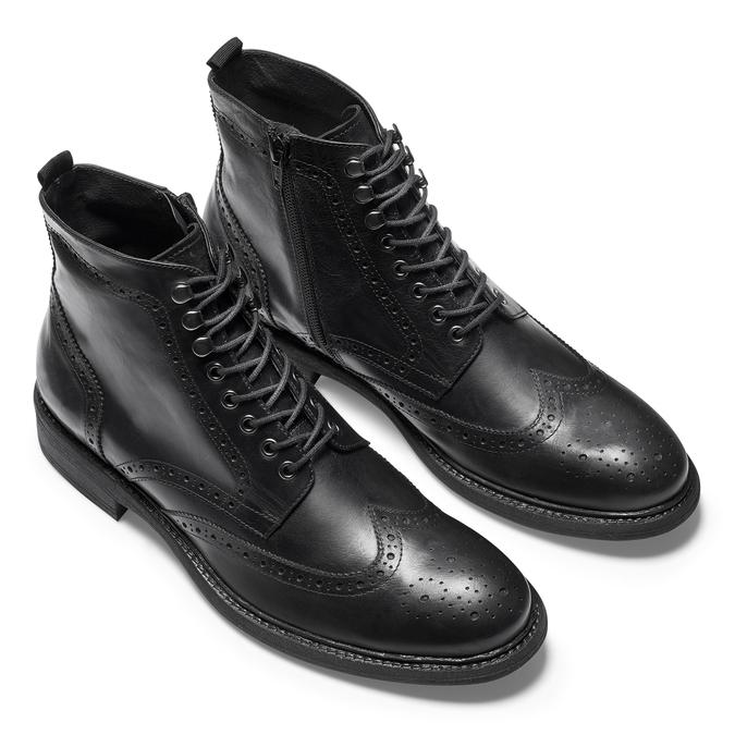 Men's shoes bata, Noir, 894-6725 - 19