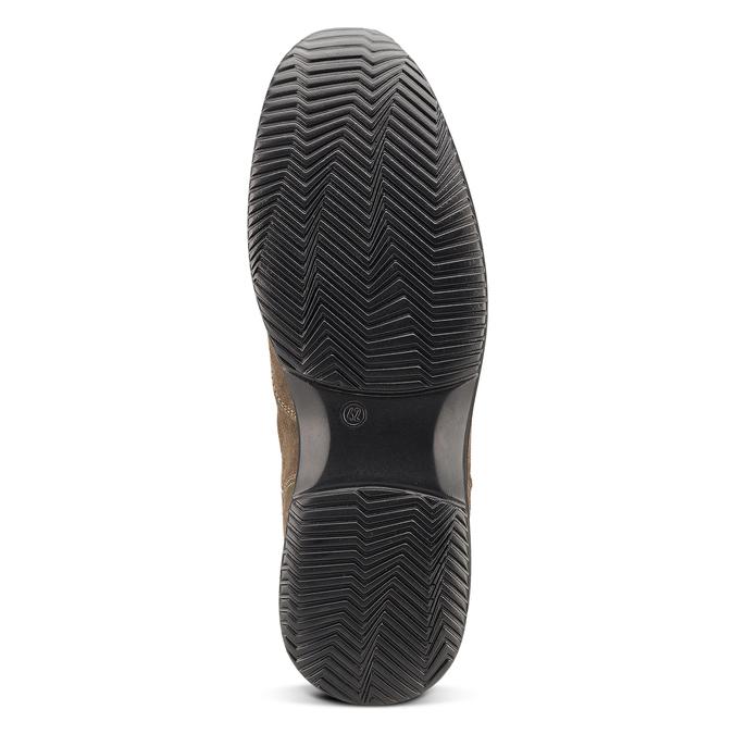 Men's shoes bata, Brun, 843-3315 - 17