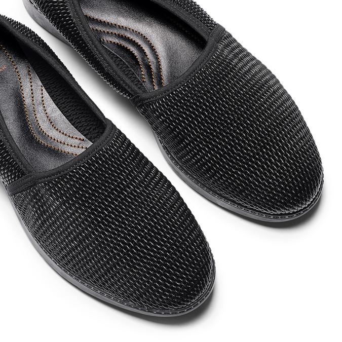 Women's shoes flexible, Noir, 511-6125 - 19