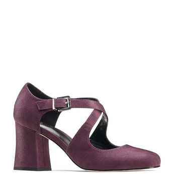 Women's shoes insolia, Rouge, 729-5975 - 13