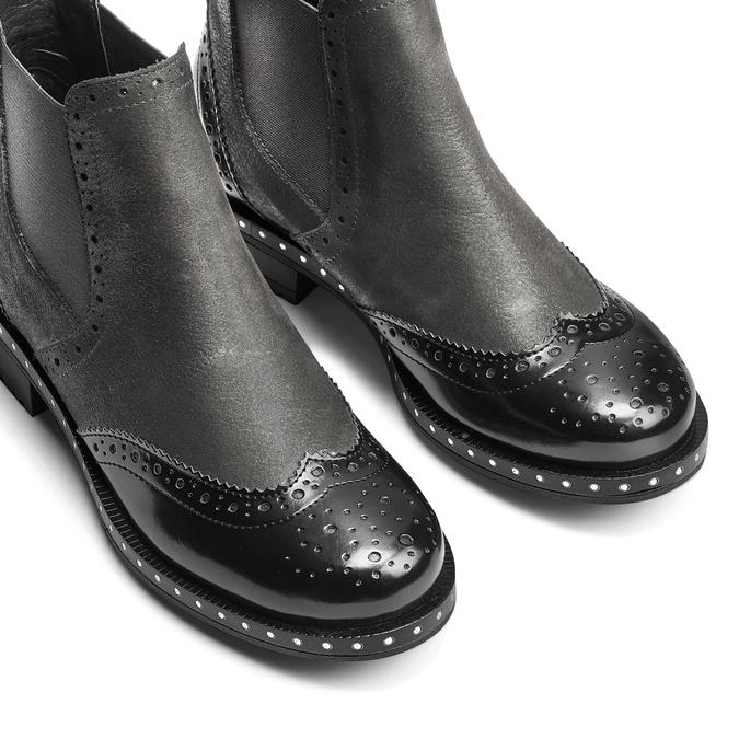 Women's shoes bata, Gris, 594-2186 - 15