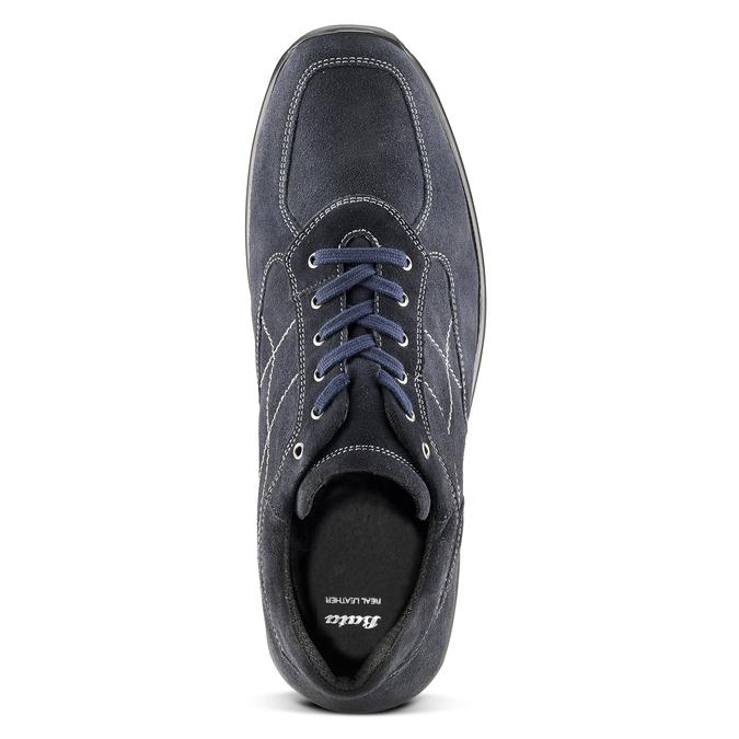 Men's shoes bata, Bleu, 843-9315 - 15