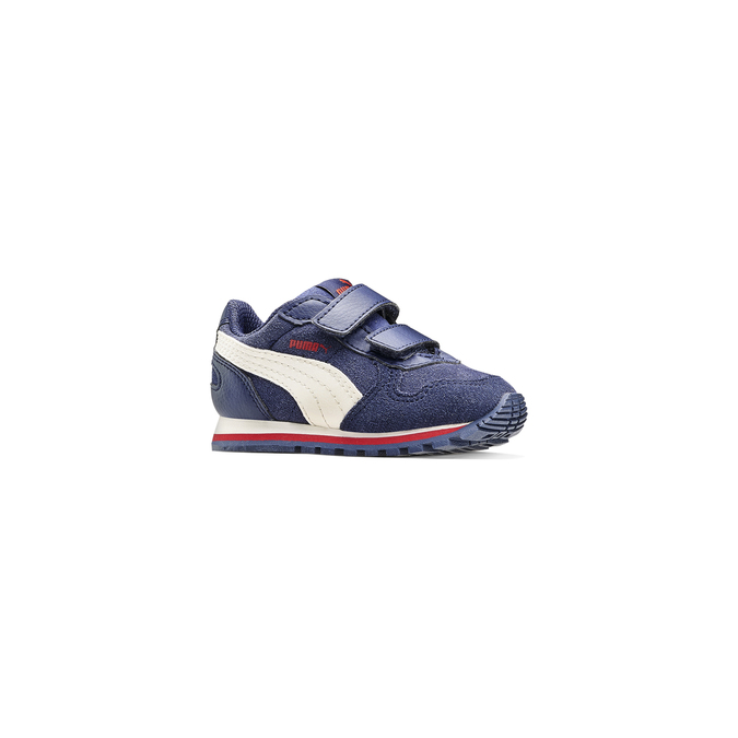 Childrens shoes puma, Bleu, 103-9182 - 13
