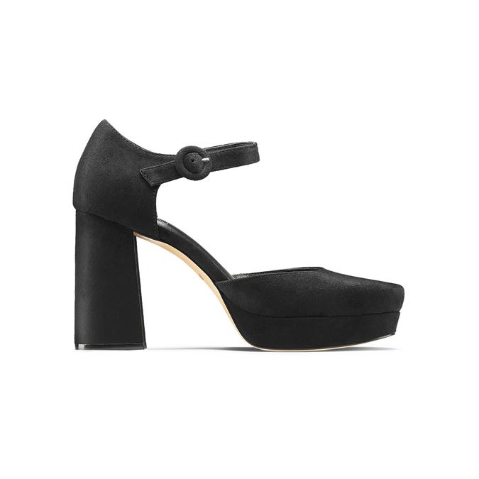 Women's shoes insolia, Noir, 729-6971 - 26