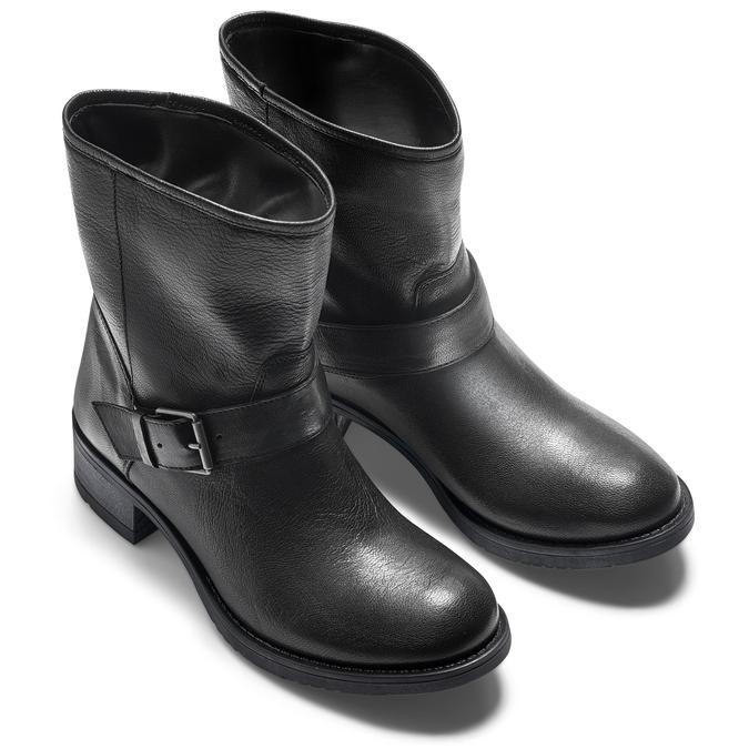 Women's shoes bata, Noir, 694-6420 - 19