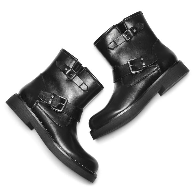 Women's shoes bata, Noir, 591-6143 - 19