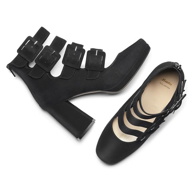 Women's shoes bata, Noir, 723-6984 - 19