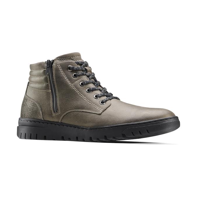 Men's shoes bata, Gris, 894-2719 - 13