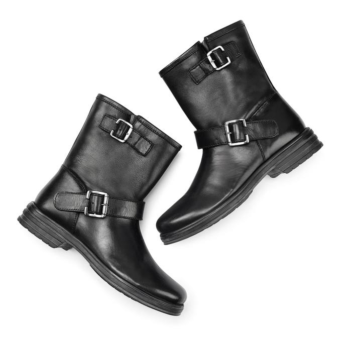 Women's shoes bata, Noir, 594-6277 - 19