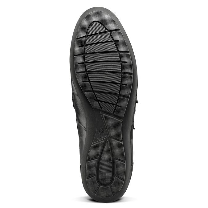 Men's shoes bata, Noir, 844-6729 - 17