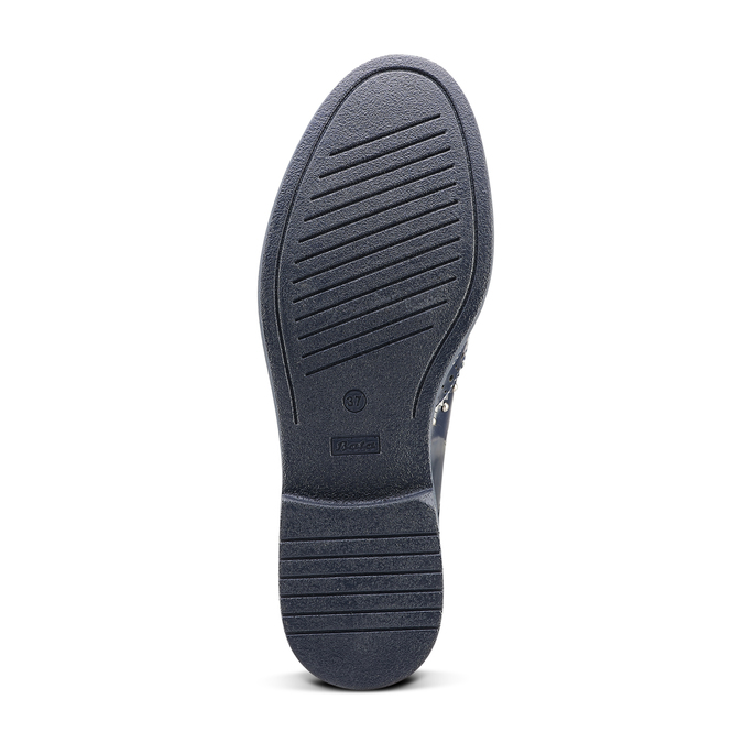 Women's shoes bata, Bleu, 521-9657 - 17