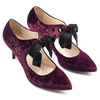 Women's shoes insolia, Rouge, 729-5983 - 19