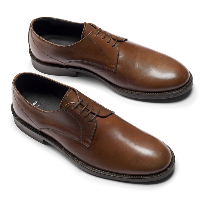 Men's shoes bata, Brun, 824-3997 - 19