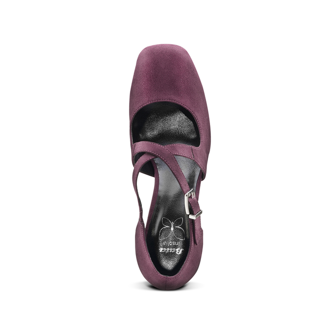 Women's shoes insolia, Rouge, 729-5975 - 15