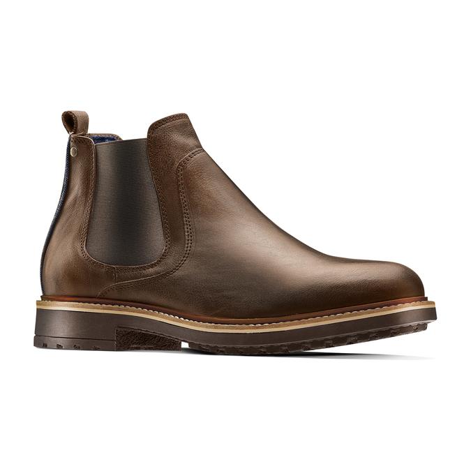 Men's shoes bata, Brun, 894-4736 - 13