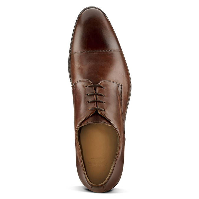 Men's shoes bata-the-shoemaker, Brun, 824-4184 - 15