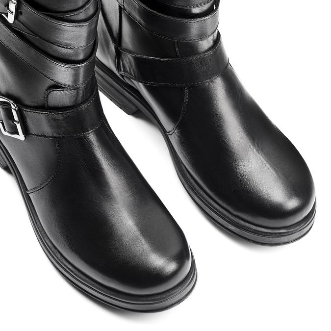 Women's shoes bata, Noir, 594-6276 - 15