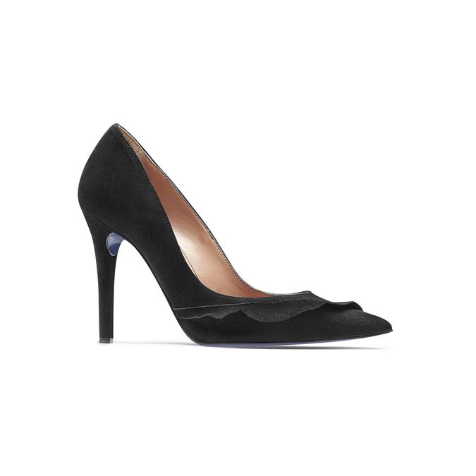 Women's shoes bata, Noir, 723-6155 - 13