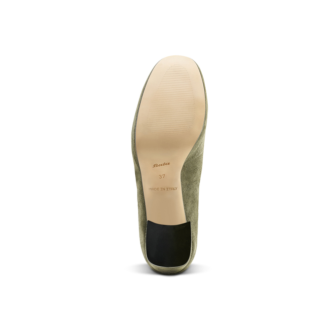 Women's shoes bata, Vert, 723-7984 - 17