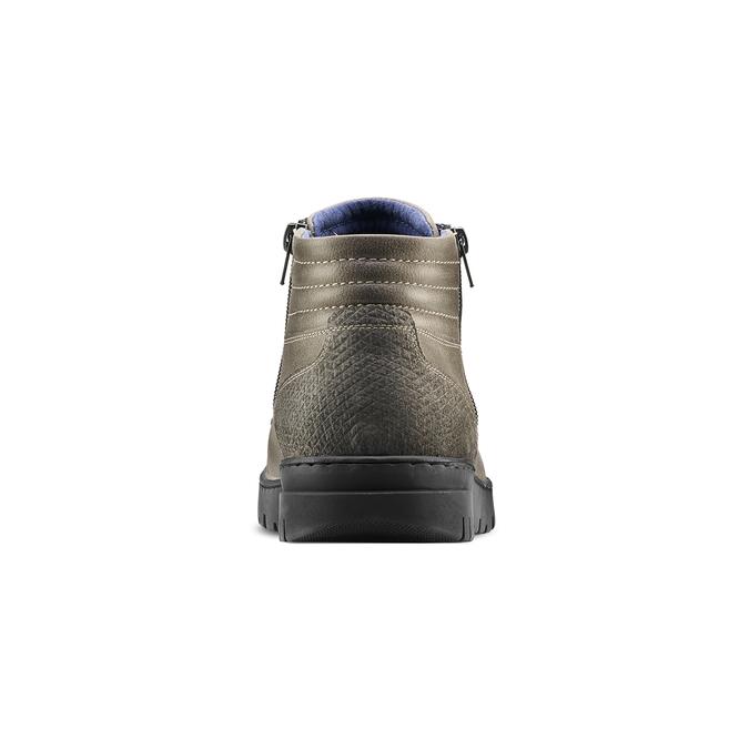 Men's shoes bata, Gris, 894-2719 - 16