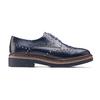 Women's shoes bata, Bleu, 521-9657 - 26
