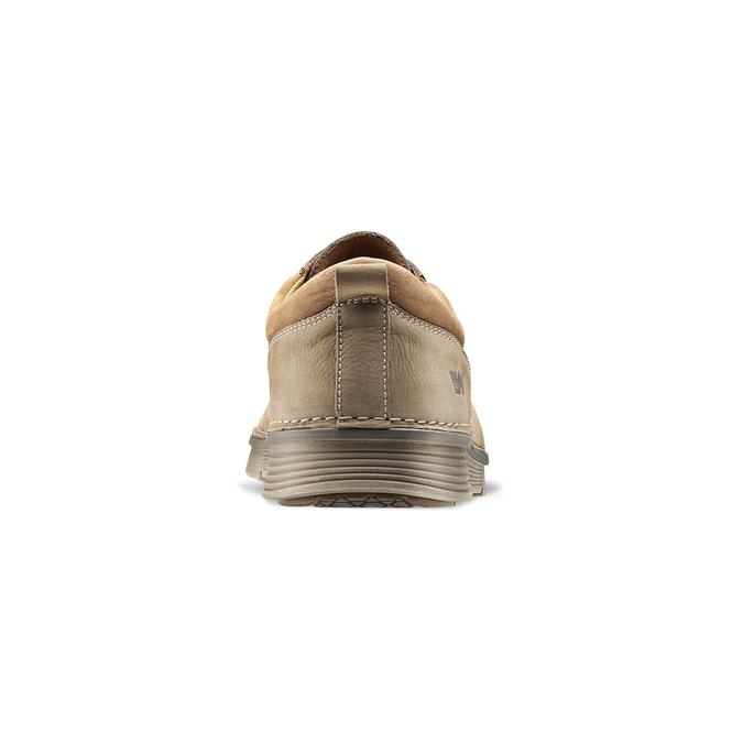Chaussures lacées en cuir weinbrenner, Jaune, 846-8436 - 16