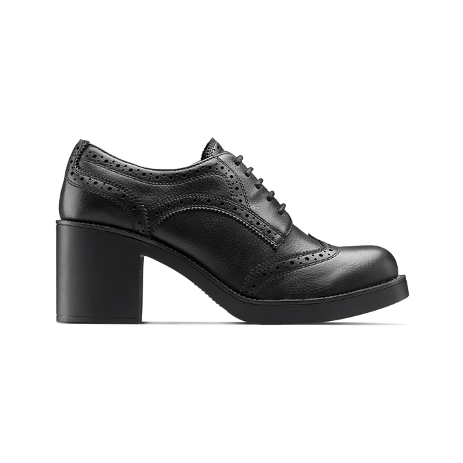 Women's shoes bata, Noir, 621-6156 - 26