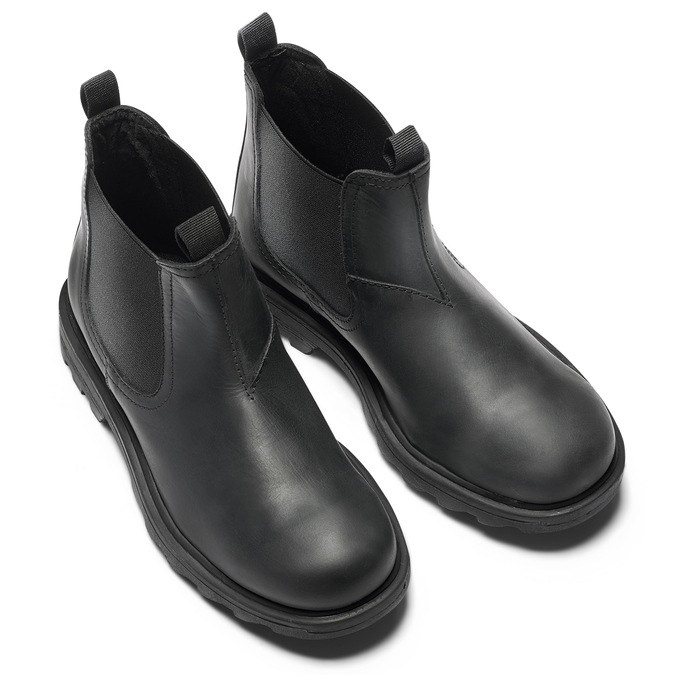 Childrens shoes mini-b, Noir, 396-6422 - 15