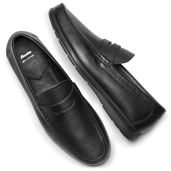Men's shoes bata, Noir, 814-6178 - 19