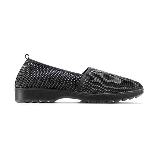 Women's shoes flexible, Noir, 511-6125 - 26