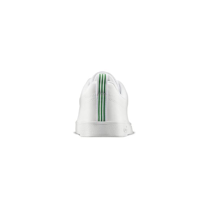 Basket blanche avec détails verts adidas, Blanc, 501-1300 - 16
