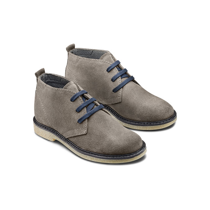 Childrens shoes mini-b, Gris, 313-2278 - 16