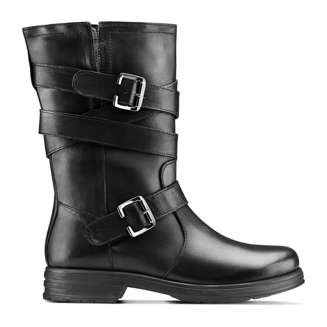 Women's shoes bata, Noir, 594-6276 - 26