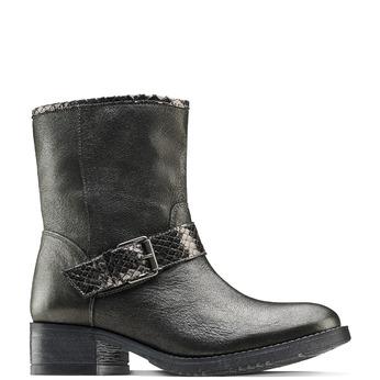 Women's shoes bata, Gris, 694-2420 - 13