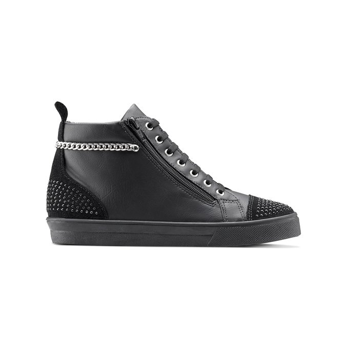 Women's shoes north-star, Noir, 541-6203 - 26