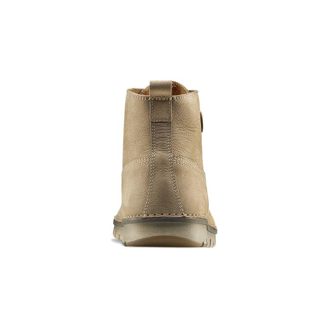 Bottines en cuir weinbrenner, Brun, 896-2340 - 16
