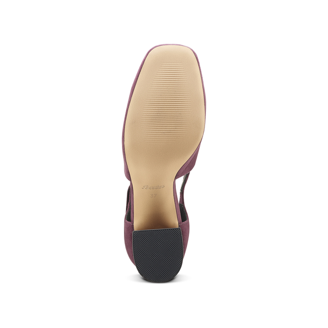 Women's shoes insolia, Rouge, 729-5975 - 17