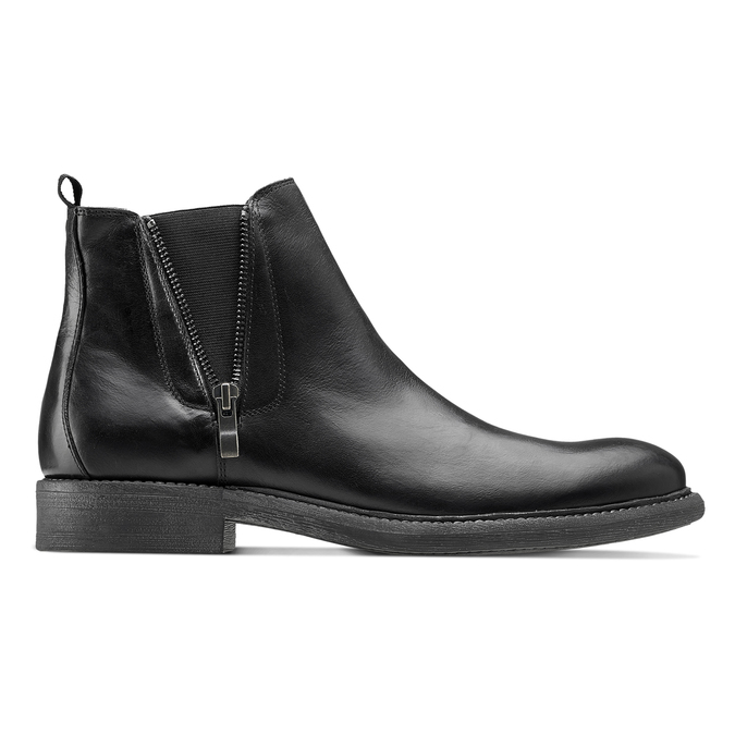 Men's shoes bata, Noir, 894-6739 - 26