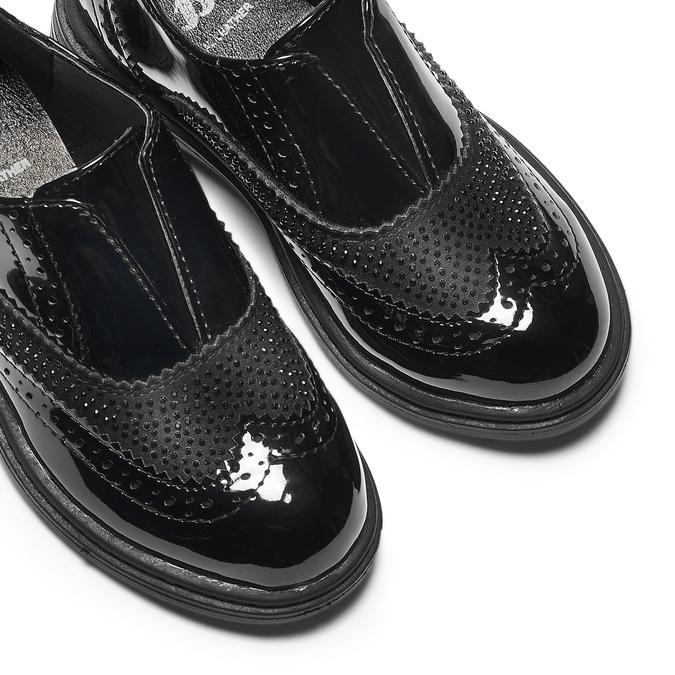 Childrens shoes mini-b, Noir, 221-6201 - 19