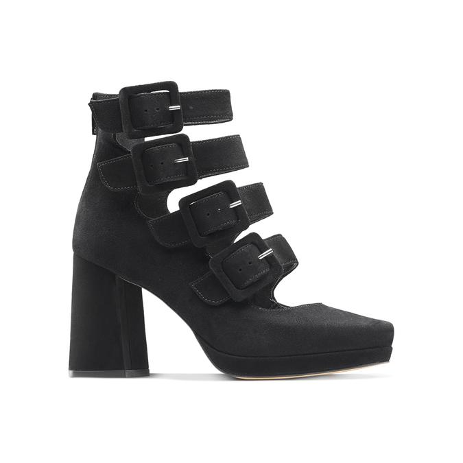 Women's shoes bata, Noir, 723-6984 - 13