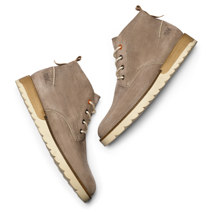 Men's shoes weinbrenner, Brun, 896-3452 - 19