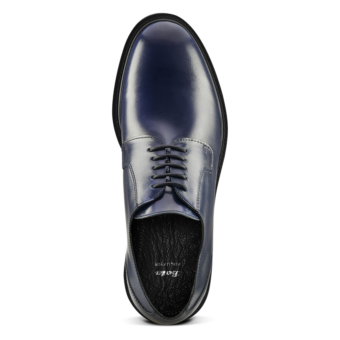 Men's shoes bata, Bleu, 824-9157 - 15