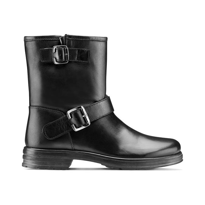 Women's shoes bata, Noir, 594-6277 - 26